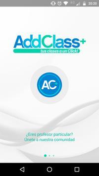 AddClass Tutor poster
