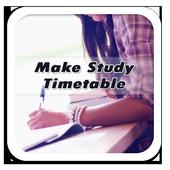 Make Study Timetable icon