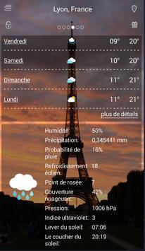 meteo france 7 jours screenshot 1