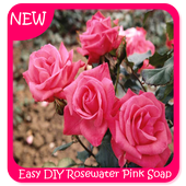 Easy DIY Rosewater Pink Soap icon