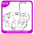 5000 House Plan Design