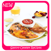 Savory Omelet Recipes icon