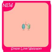 Simple Love Wallpaper icon