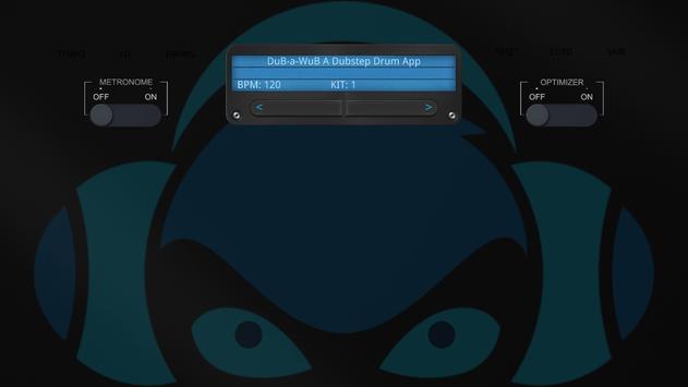 DuB-a-WuB - A Dubstep Drum App poster