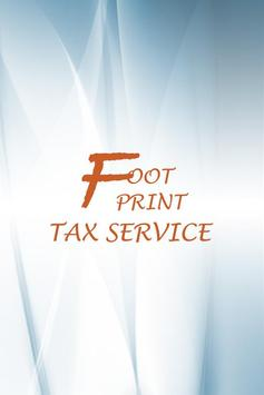 FOOT PRINT TAX SERVICES poster
