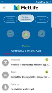 Included Insurance screenshot 1