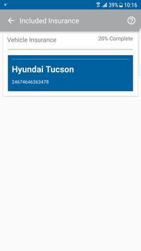 Included Insurance screenshot 3
