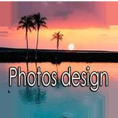 Photos design icon