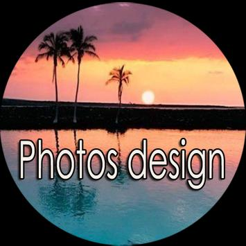 Photos design poster