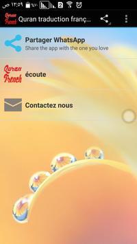 Quran traduction française mp3 poster