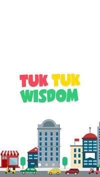 TukTuk Wisdom poster
