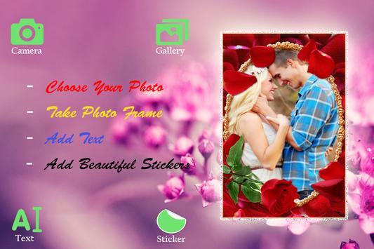 Flower Photo Frame 2016 screenshot 2