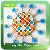 Easy DIY Paper Clock icon