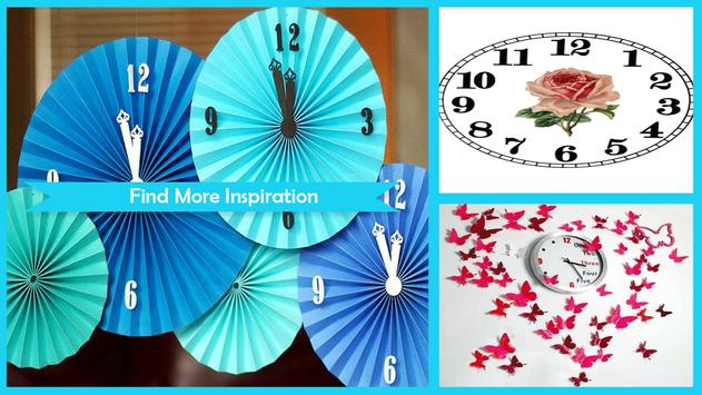 Easy DIY Paper Clock apk screenshot