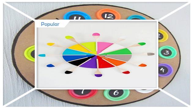 Easy DIY Paper Clock screenshot 1