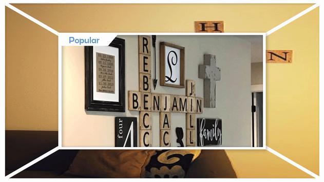 Easy DIY Scrabble Wall Art screenshot 1
