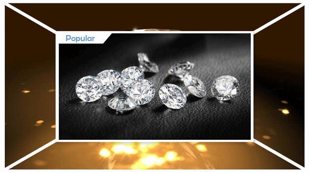 Shiny Diamonds Live Wallpaper apk screenshot