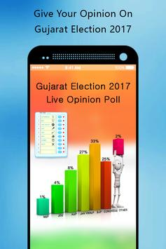 Gujarat Election 2017 Opinion Poll poster
