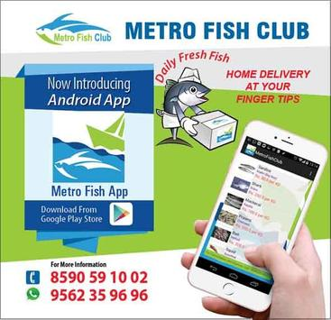 Metro Fish Club apk screenshot