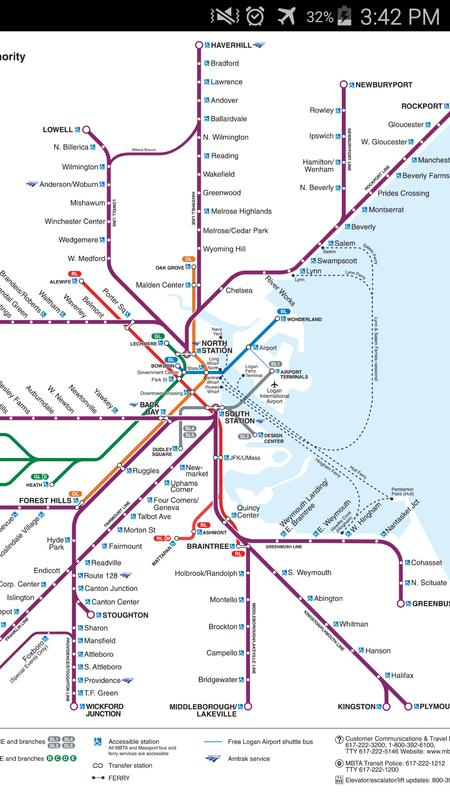 Boston Rail Map for Android - APK Download