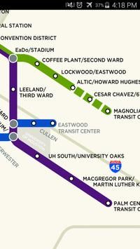 Houston Light Rail Map apk screenshot