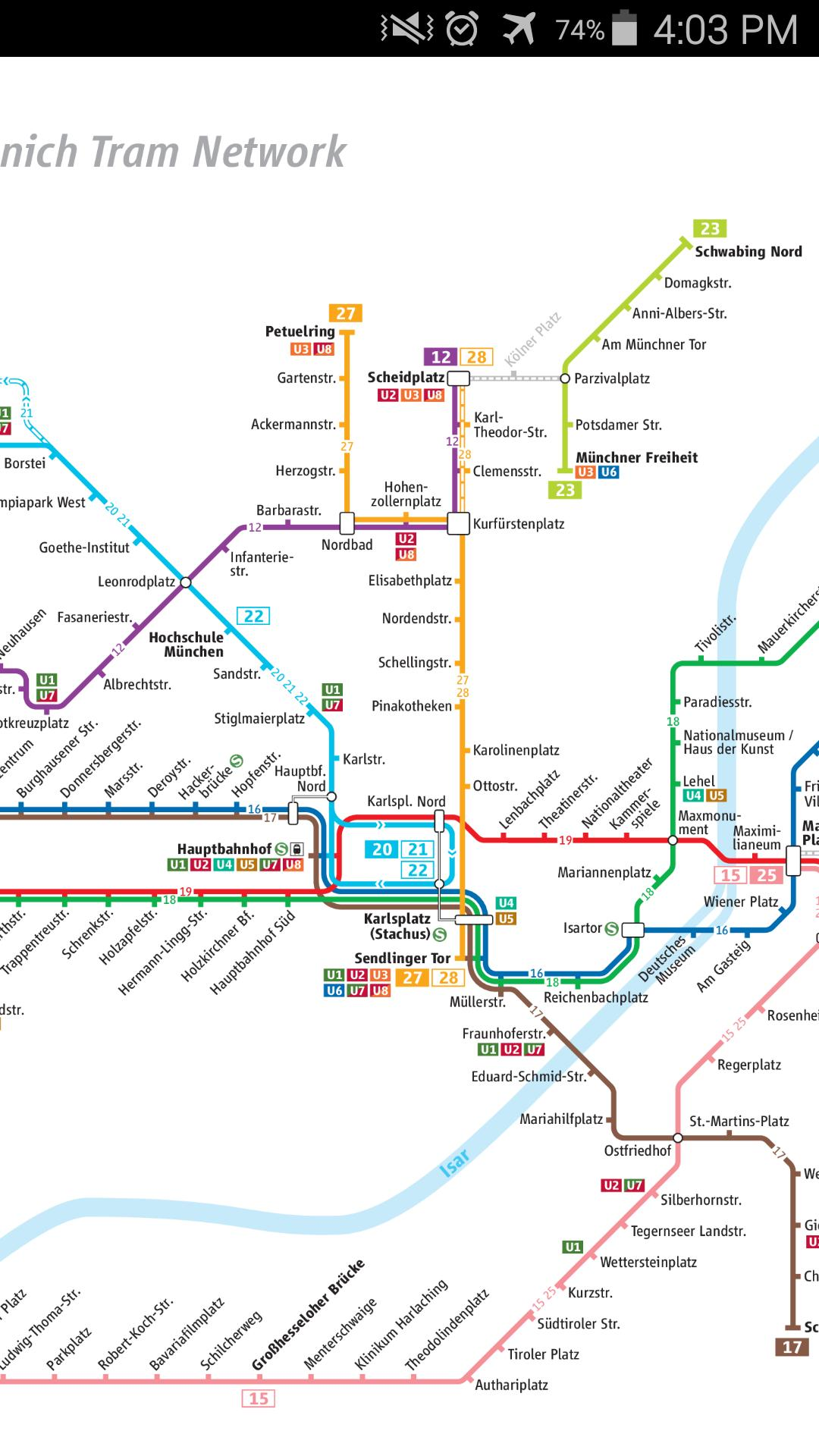 Munich Subway Map.Munich Tram Map For Android Apk Download
