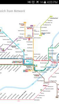 Munich Tram Map apk screenshot