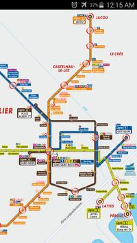 Montpellier Tram Map apk screenshot