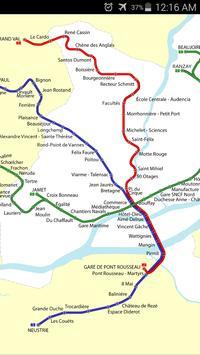 Nantes Tram Map screenshot 1