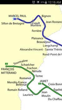 Nantes Tram Map screenshot 2