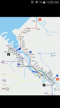 Bilbao Metro Map poster