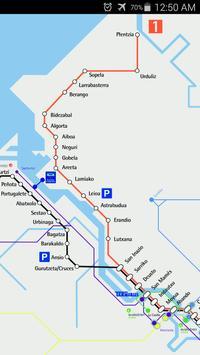 Bilbao Metro Map apk screenshot