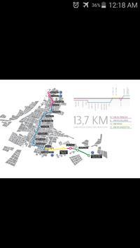 Brescia Metro Map poster
