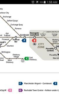 Manchester Metro Map apk screenshot