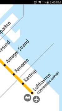 Copenhagen Metro Map apk screenshot