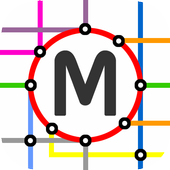 Paris Metro Map icon
