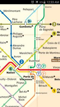 Paris Metro Map apk screenshot