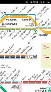 Prague Metro & Tram Map apk screenshot