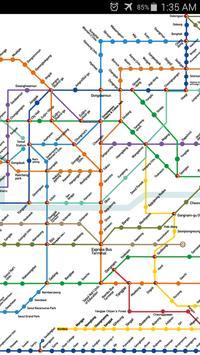 Seoul Metro Map apk screenshot
