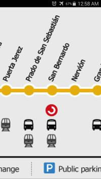 Seville Metro Map apk screenshot