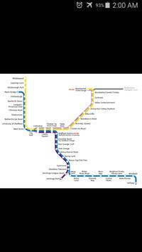 Sheffield Supertram Map poster