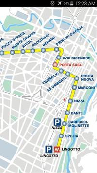 Turin Metro Map apk screenshot