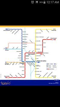 Toulouse Metro & Tram Map poster