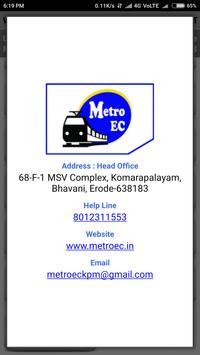 METROEC screenshot 5