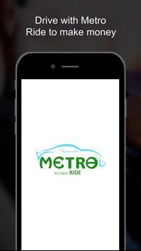 Metro Ride Driver poster