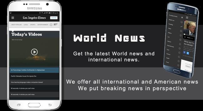 World News screenshot 2