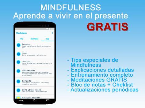Mindfulness Meditación guiada-poster