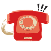 Pick up the phone icon