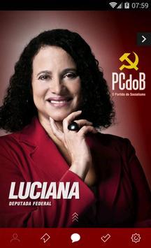 Deputada Luciana poster