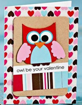 Valentine Day Card poster